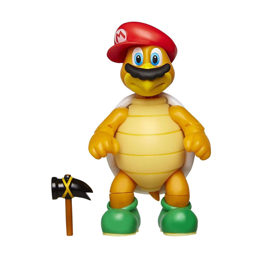 World of Nintendo Action Figure Wave 15 Cappy Hammer Bro with Hammer 10 cm