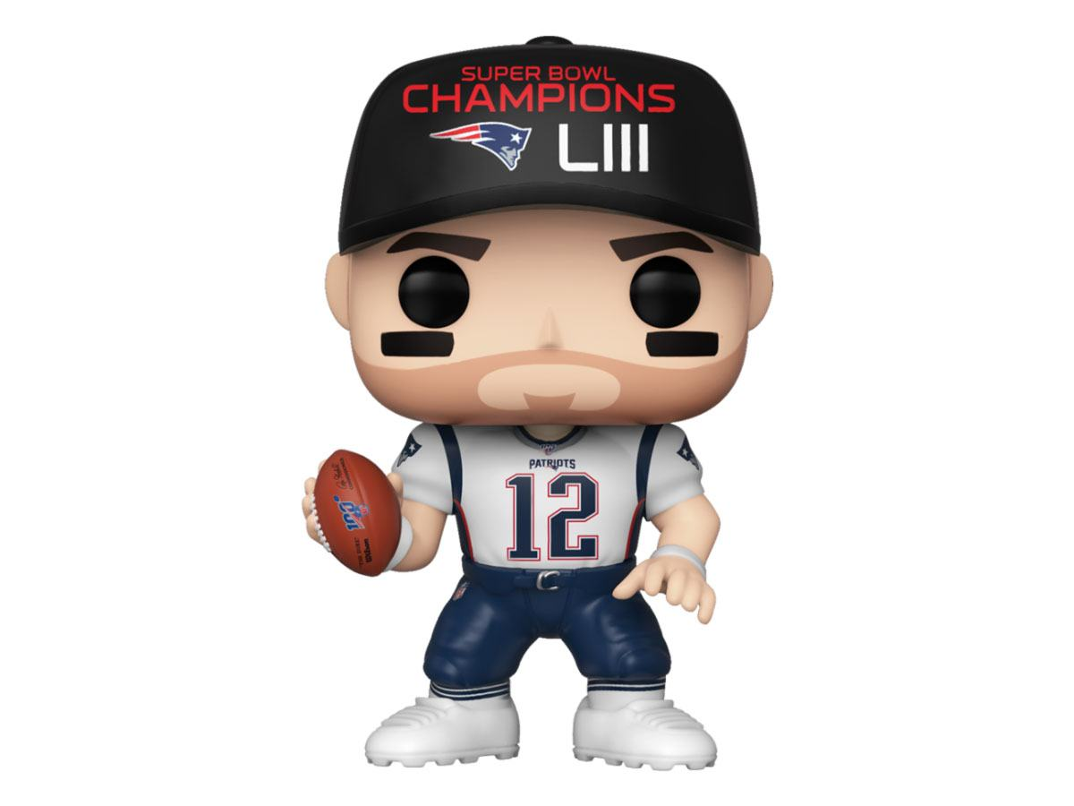NFL POP! Sports Vinyl Figure Tom Brady (SB Champions LIII) 10 cm