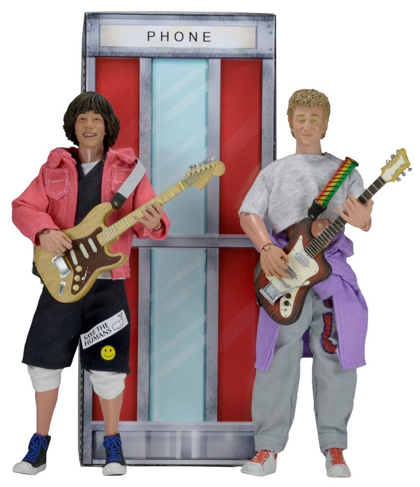 Bill & Ted´s Excellent Adventure Action Figures 2-Pack Bill & Ted 20 cm