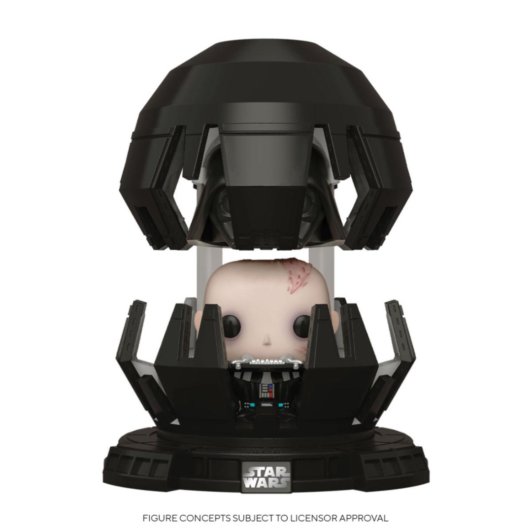 Star Wars POP! Deluxe Movies Vinyl Figure Darth Vader in Meditation Chamber