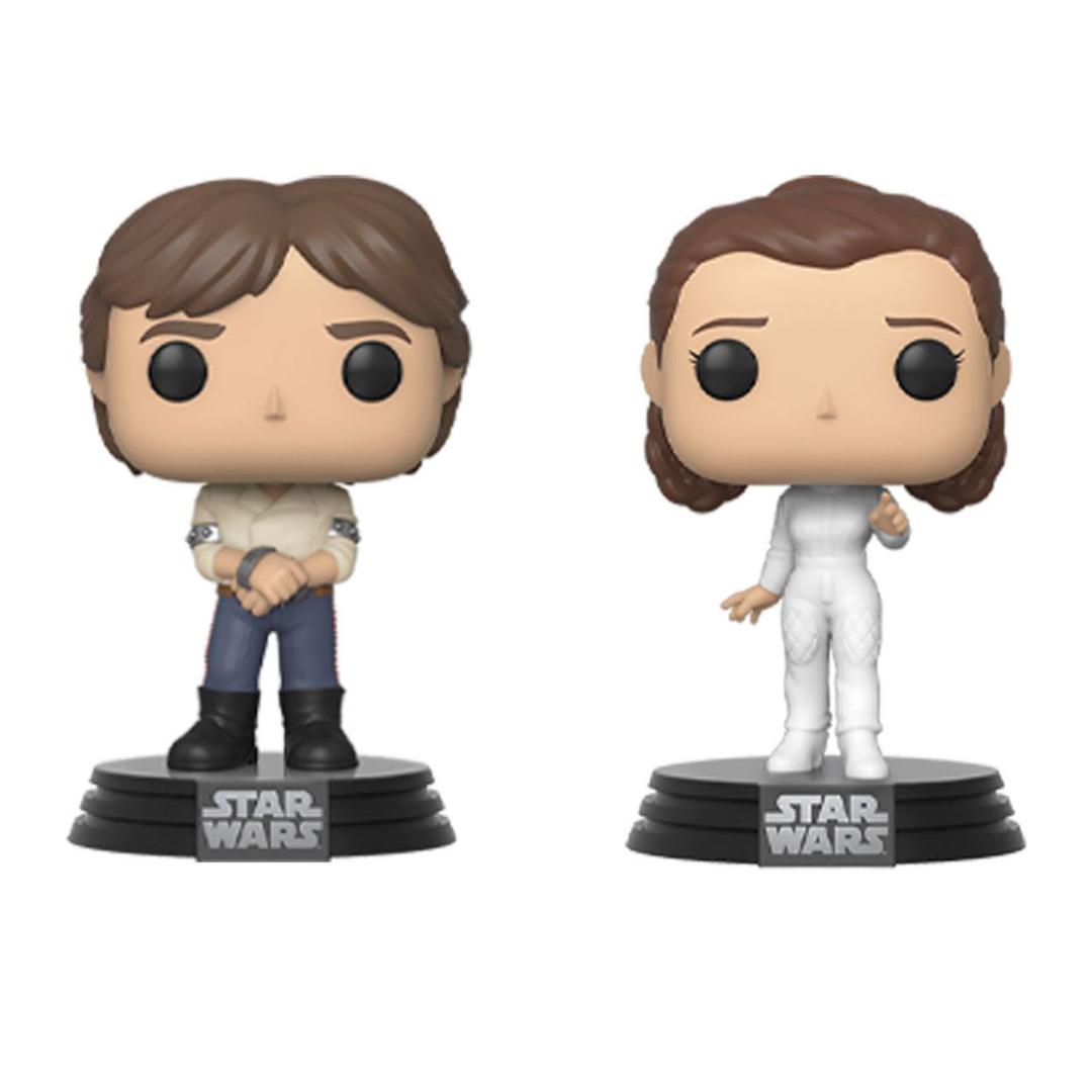 Star Wars POP! Movies 2-Pack Han & Leila Empire Strikes Back 40th Annivers.