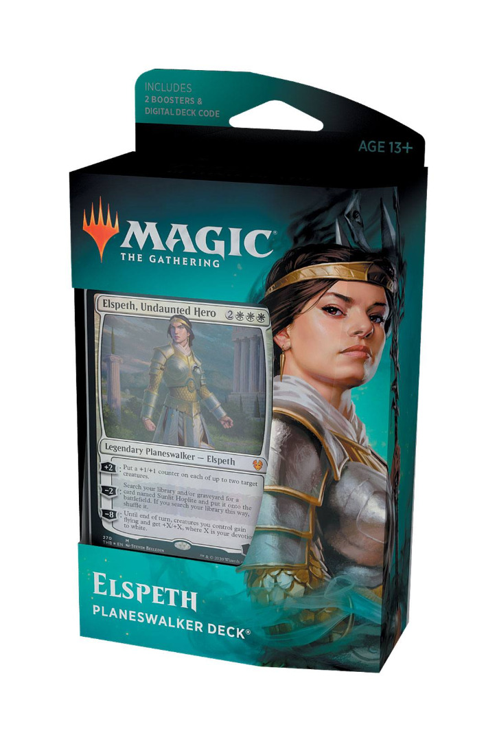 Magic the Gathering Theros Beyond Death Planeswalker Deck Elspeth