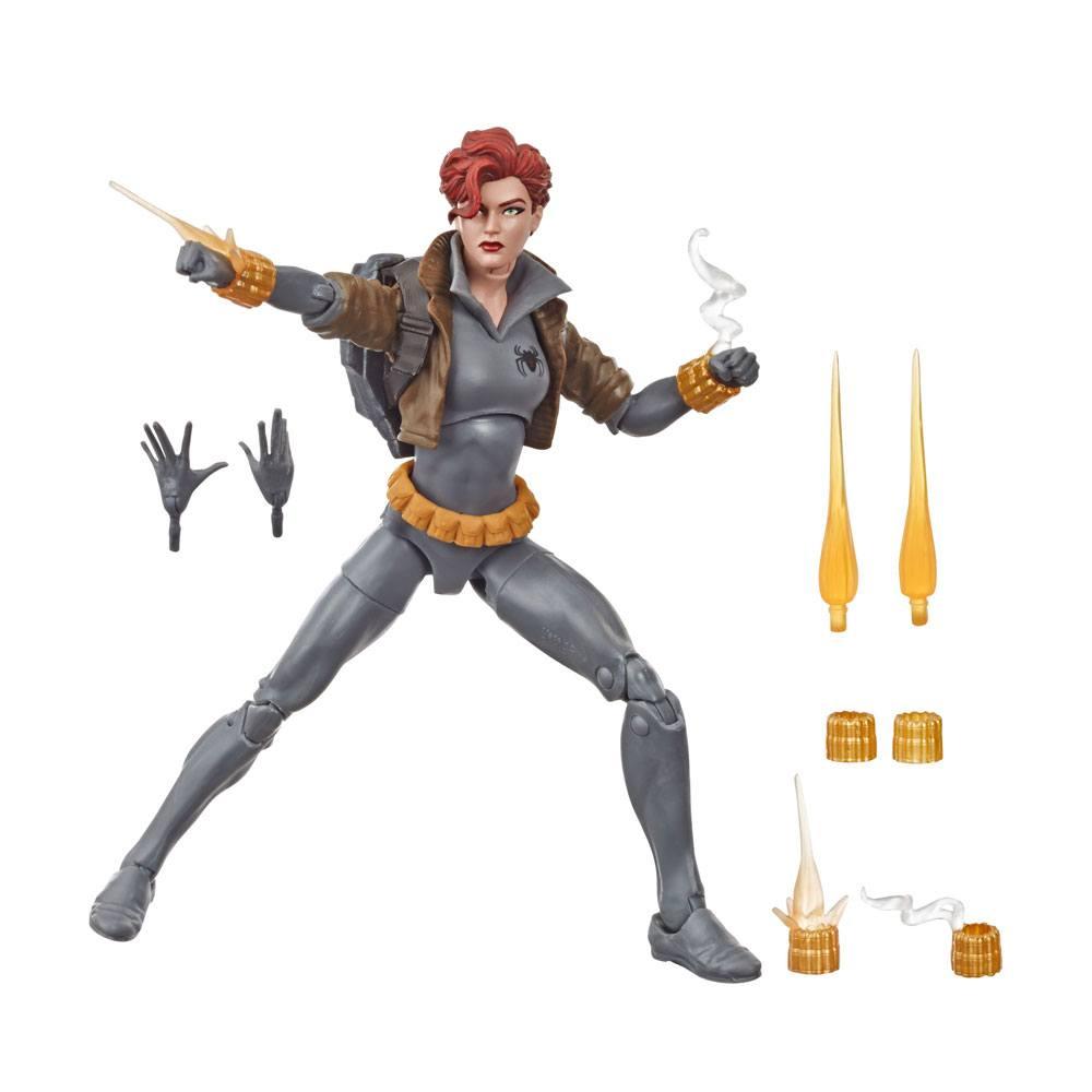 Marvel Legends Series Action Figure Black Widow Grey Suit 15 cm