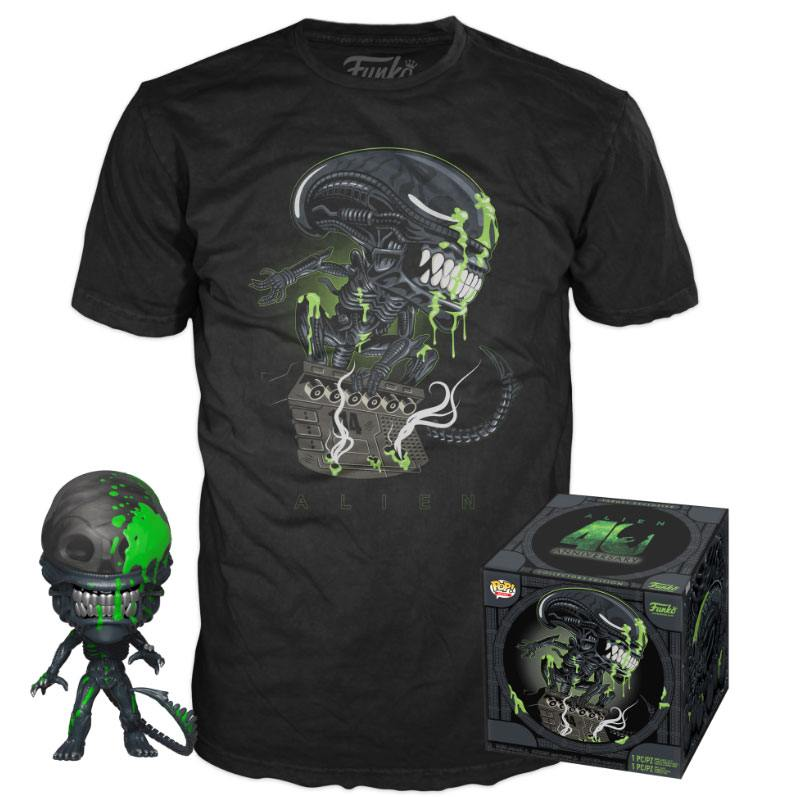Alien POP! & Tee Box 40th Xenomorph Exclusive Tamanho M