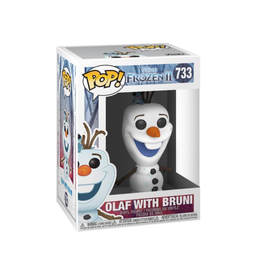 Frozen 2 POP! Disney Vinyl Figure Olaf & Bruni 10 cm