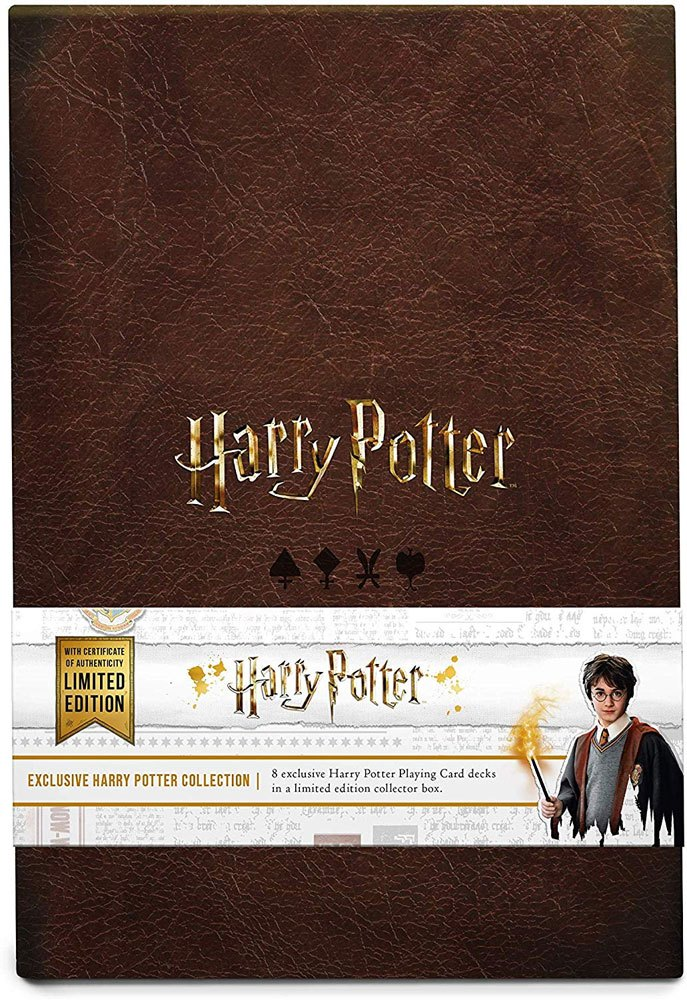 Harry Potter Playing Cards Collector's Set Limited Edition