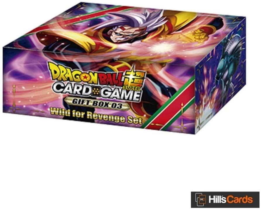 DragonBall Super Card Game - Gift Box 3 Wild for Revenge English