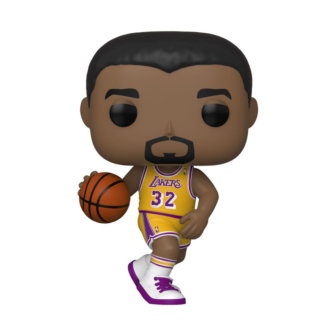 NBA Legends POP! Sports Vinyl Figure Magic Johnson (Lakers home) 10 cm