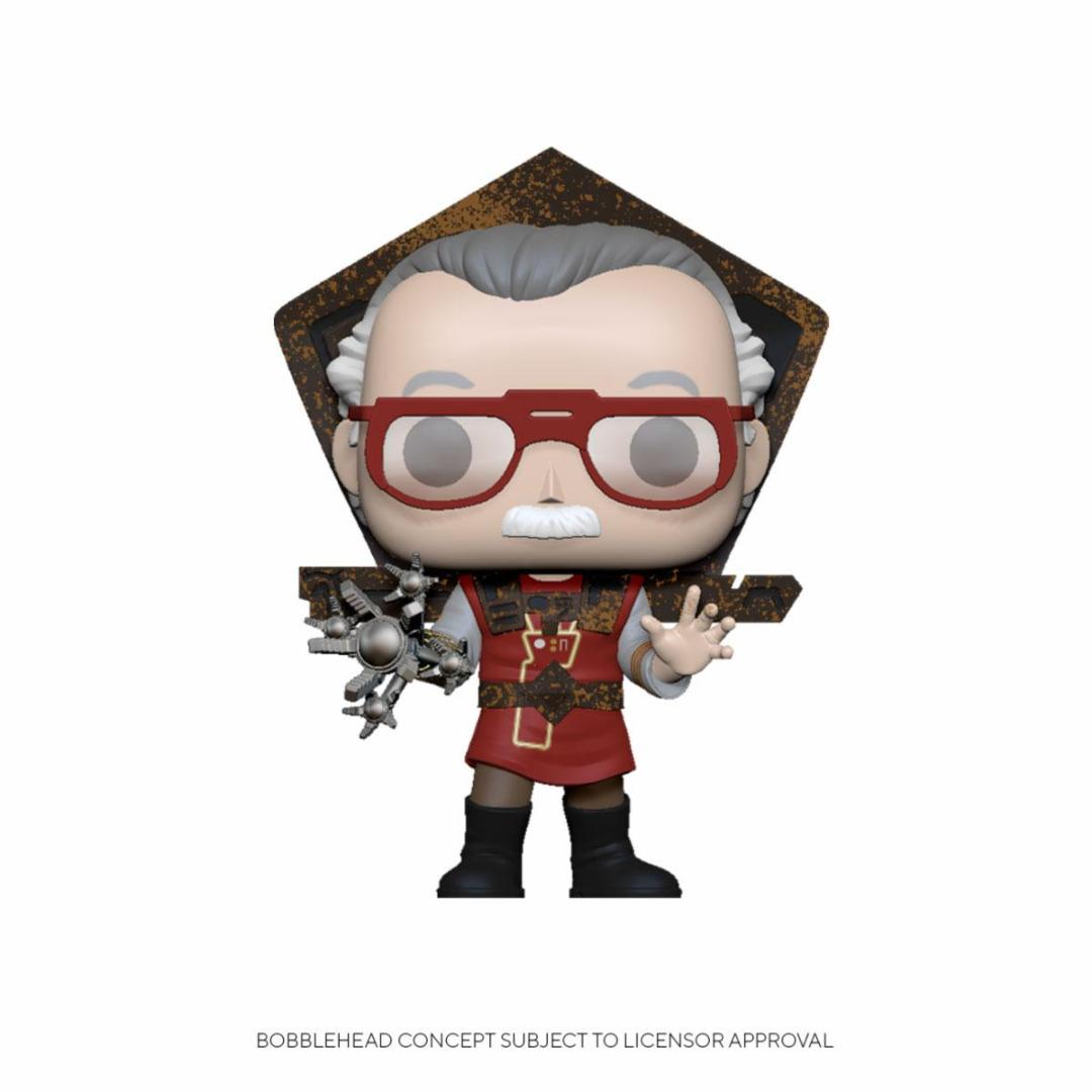 Stan Lee POP! Icons Vinyl Figure Stan Lee in Ragnarok Outfit 10 cm