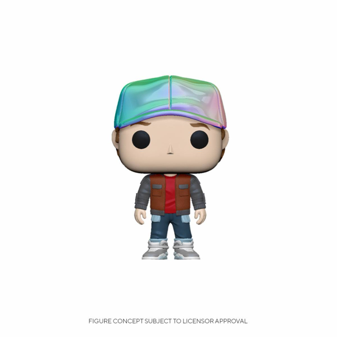 Back to the Future POP! Vinyl Figure Marty in Future Outfit 10 cm