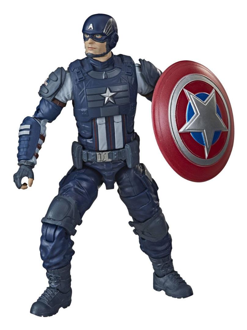 Marvel Legends Series Action Figures Captain America 15 cm 2020 Gamerverse