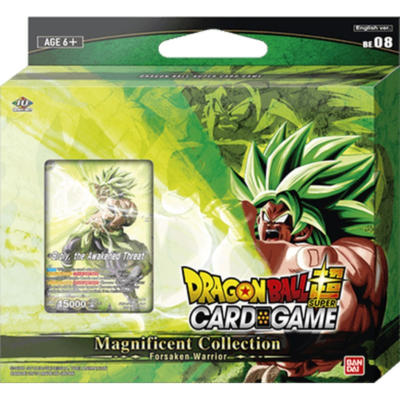 DragonBall Super Card Game Magnificent Collection Broly : Br Ver - Eng