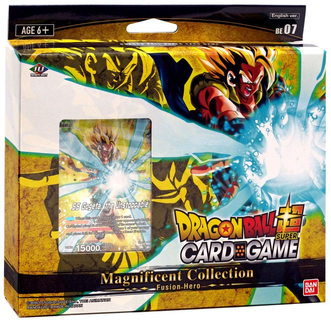 DragonBall Super Card Game Magnificent Collection Gogeta : Br Ver. - Eng