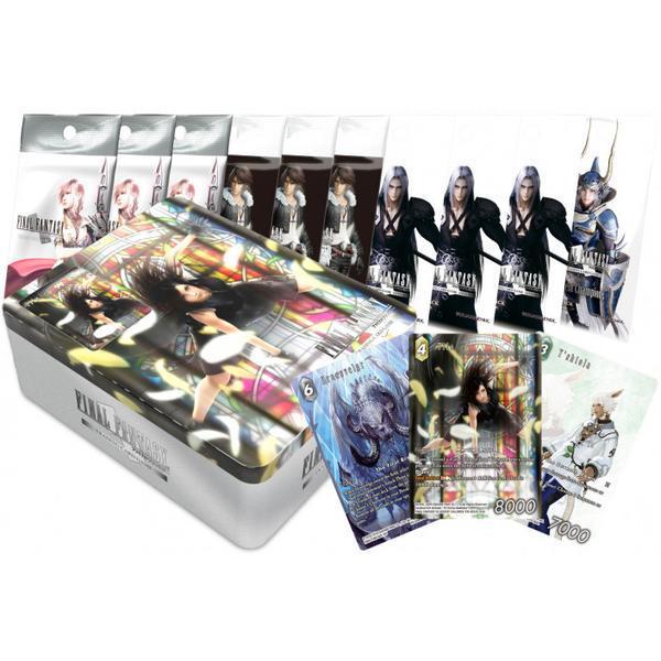 Final Fantasy TCG - Tin Gift Set - English
