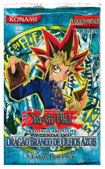 Yu-Gi-Oh! Dragão Branco de Olhos Azuis 1ª Edição Em Português
