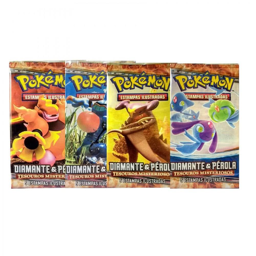 Pokémon Tesouros Misteriosos Booster Em Português