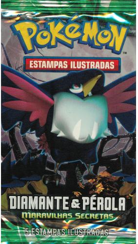 Pokémon Diamante e Pérola Booster Em Português