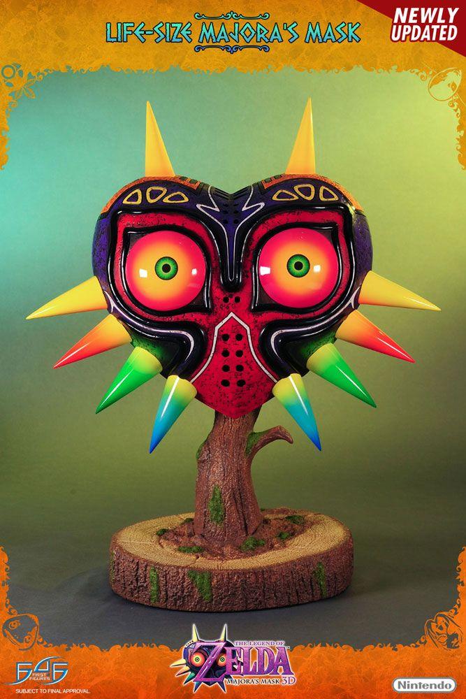 Life-Size Replica Legend of Zelda Majora's Mask 3D Majora's Mask 63 cm