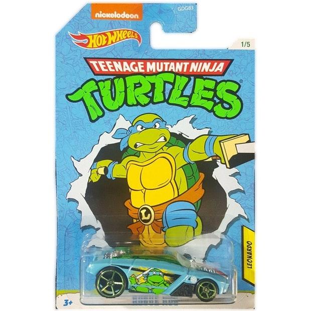 Hot Wheels Movies: Teenage Mutant Ninja Turtles - Leonardo Rrroadster