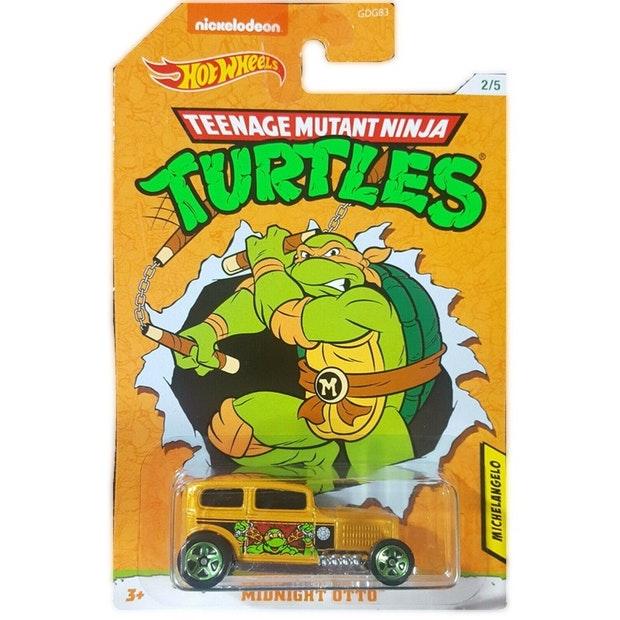 Hot Wheels Movies: Teenage Mutant Ninja Turtles - Michelangelo Rrroadster