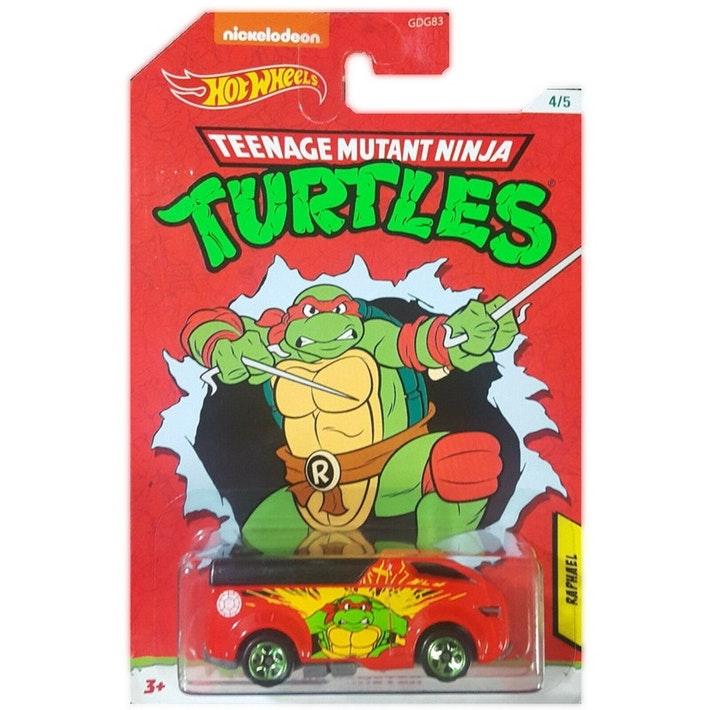 Hot Wheels Movies: Teenage Mutant Ninja Turtles - Raphael Rrroadster