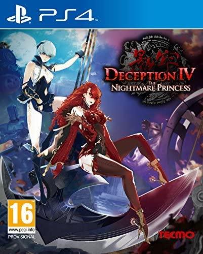 Deception IV: The Nightmare Princess PS4 (Novo)