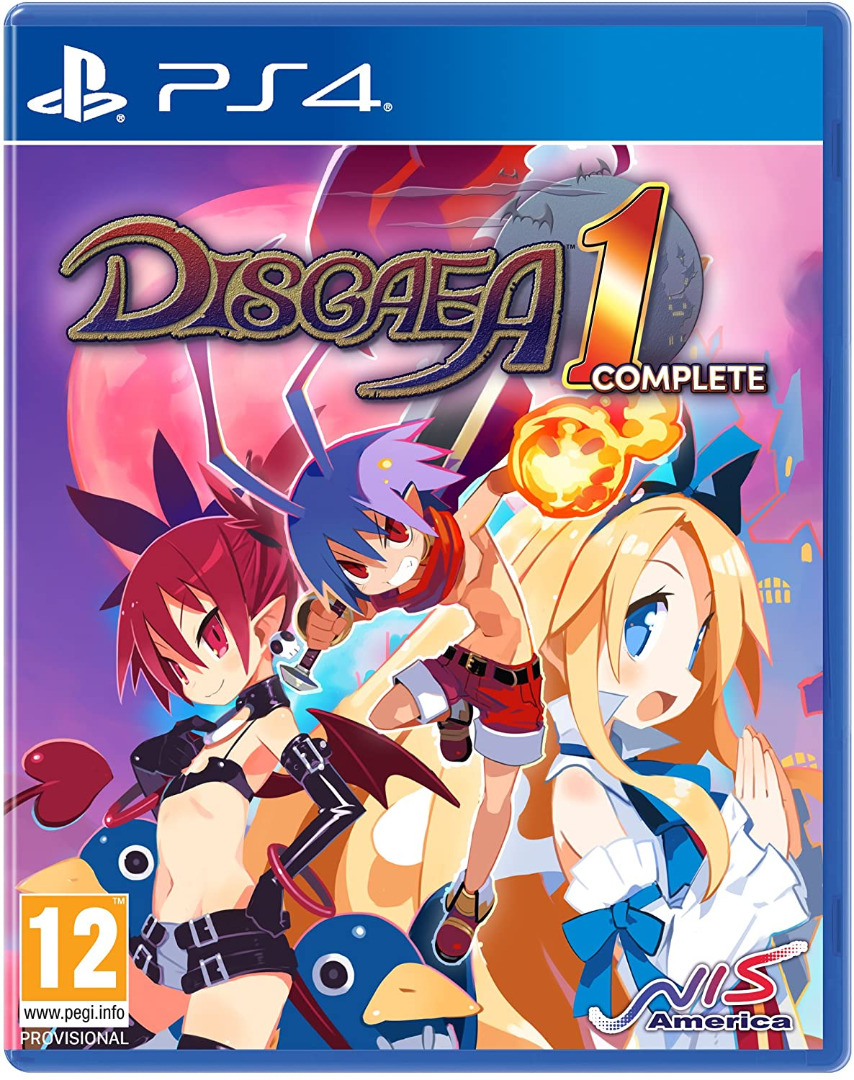 Disgaea 1 Complete PS4 (Novo)
