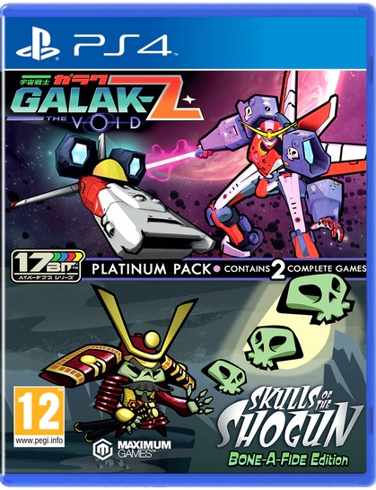 Galak-Z: The Void & Skulls of the Shogun/Bonafide Edition Platinum Pack PS4