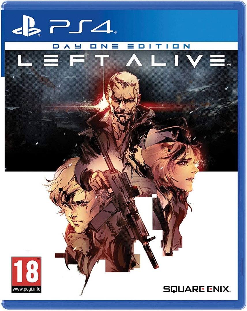 Left Alive Day One Edition (Tactical DLC) PS4 (Novo)