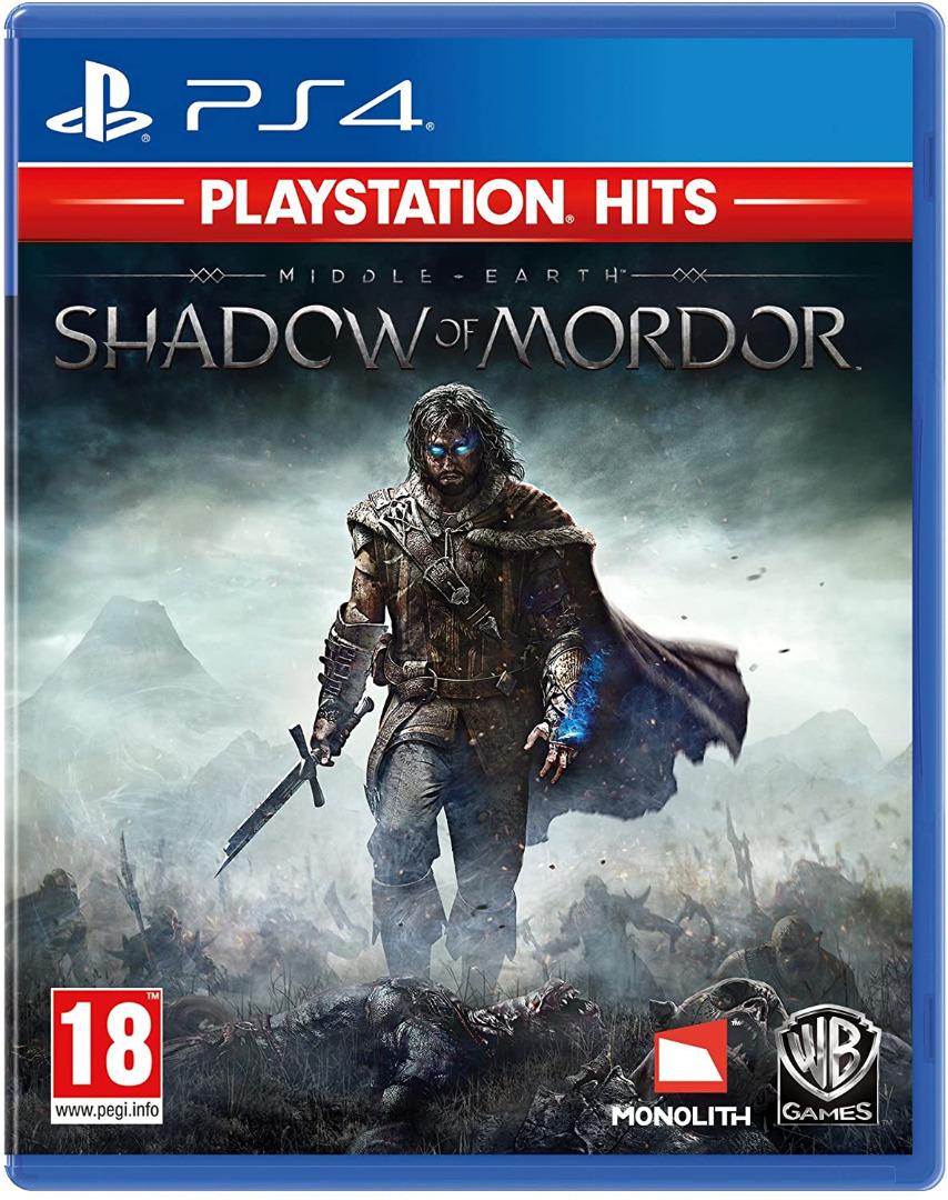 Middle Earth: Shadow Of Mordor PS4 (Novo)