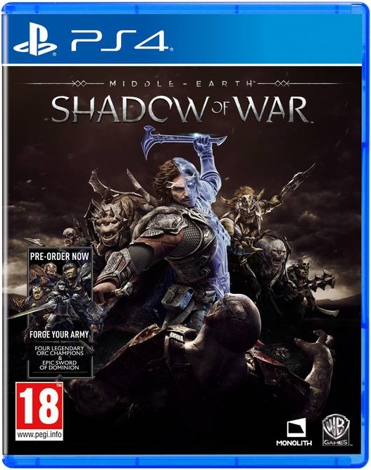 Middle Earth: Shadow Of War (Includes Forge your Army DLC) PS4 (Novo)