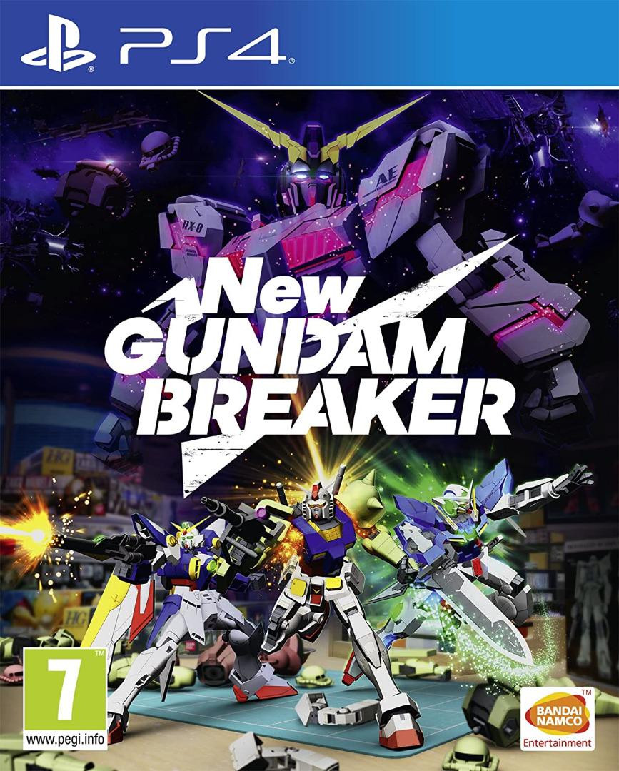 New Gundam Breake PS4 (Novo)