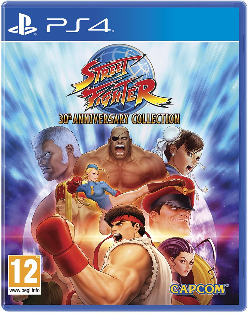 Street Fighter - 30th Anniversary Collection PS4 (Novo)