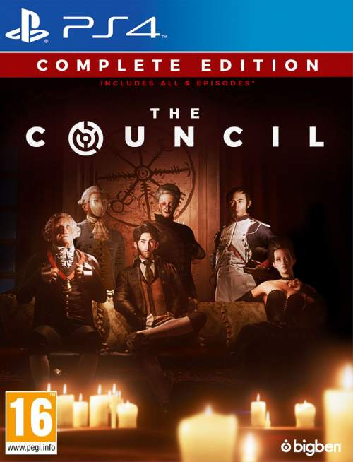 PS4 The Council Complete Edition PS4 (Novo)