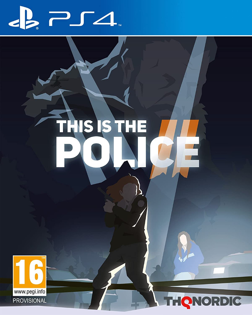 This is the Police 2 PS4 (Novo)