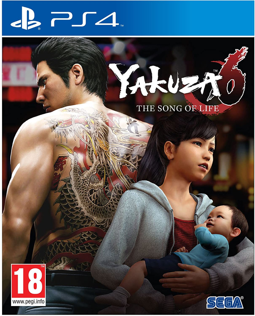 Yakuza 6: The Song of Life PS4 (Novo)