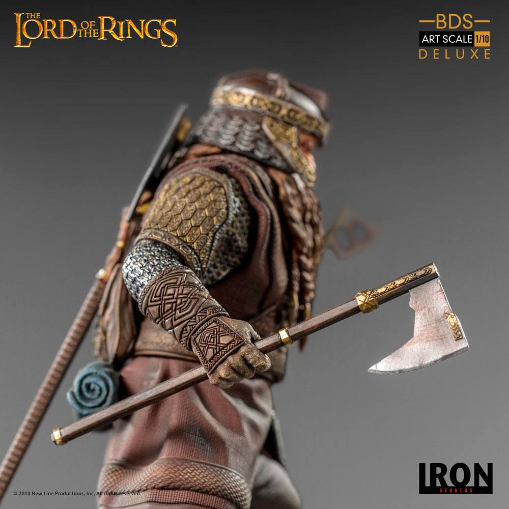 Lord Of The Rings Deluxe BDS Art Scale Statue 1/10 Gimli 21 cm