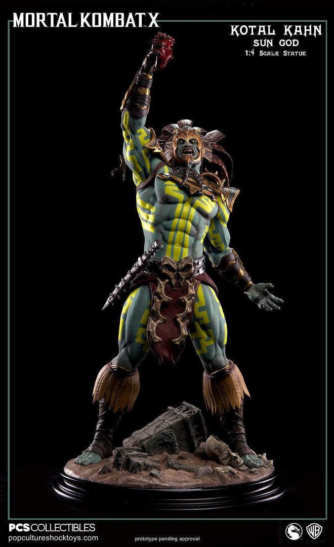 Mortal Kombat X: Kotal Kahn Sun God 1:4 Scale Statue Limited Edition 69 cm