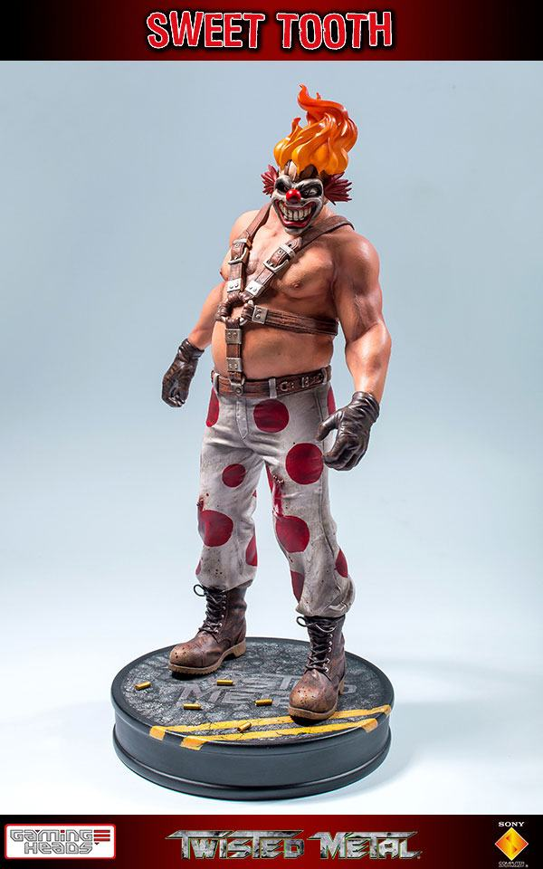 Twisted Metal 1:6 Scale Statue Sweet Tooth 34 cm