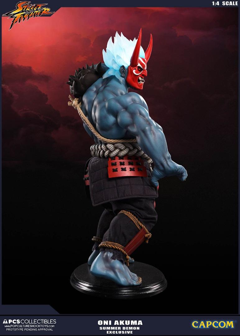 Street Fighter: Oni Akuma 1:4 Summer Demon Exclusive Statue 46 cm