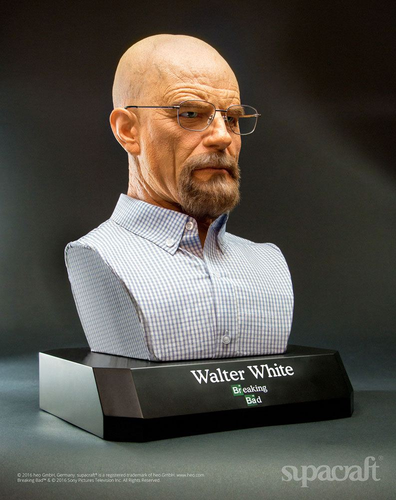 Breaking Bad Life-Size Bust Walter White 54 cm