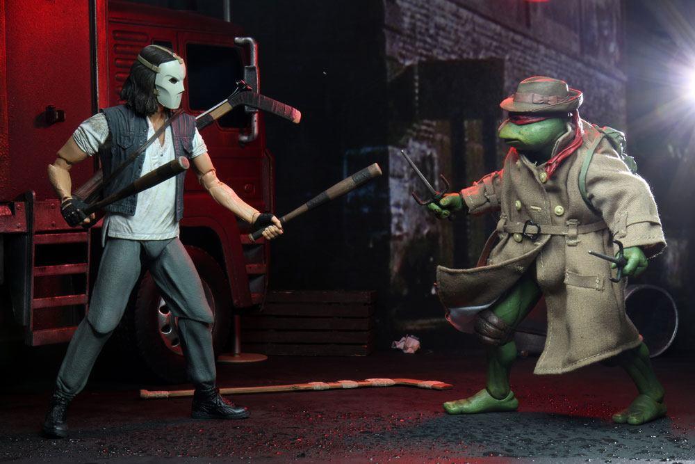 Teenage Mutant Ninja Turtles AF 2-Pack Casey Jones & Raphael in Disguise