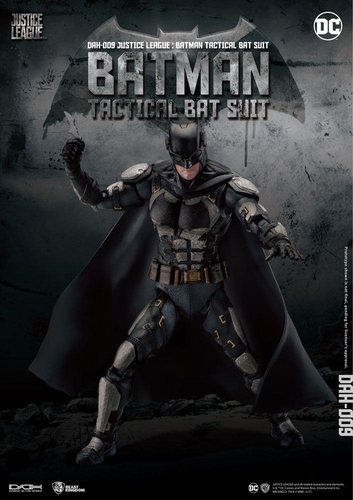 Justice League Dynamic 8ction Heroes AF 1/9 Batman Tactical Bat Suit 20 cm