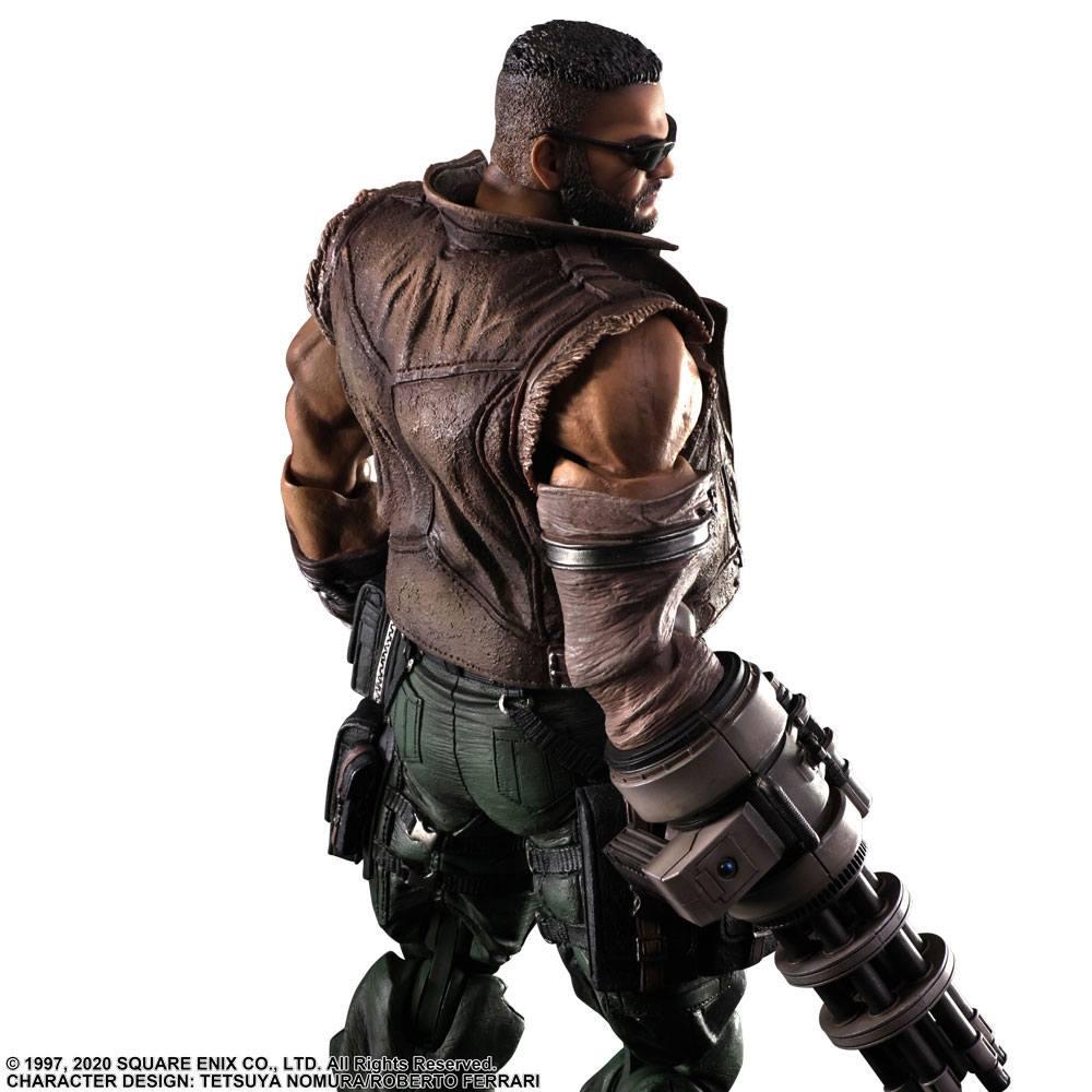 Final Fantasy VII Remake Play Arts Kai Action Figure Barret Wallace 28 cm