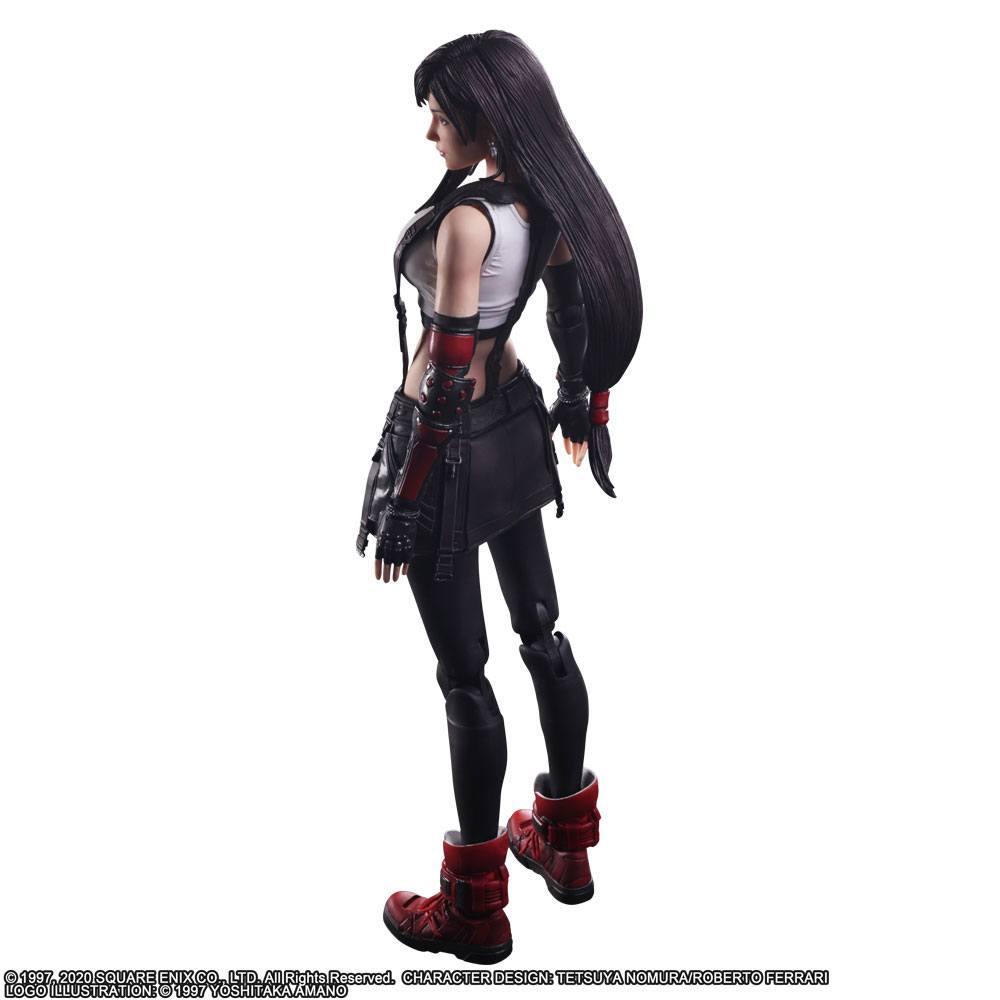 Final Fantasy VII Remake Play Arts Kai Action Figure Tifa Lockhart 25 cm