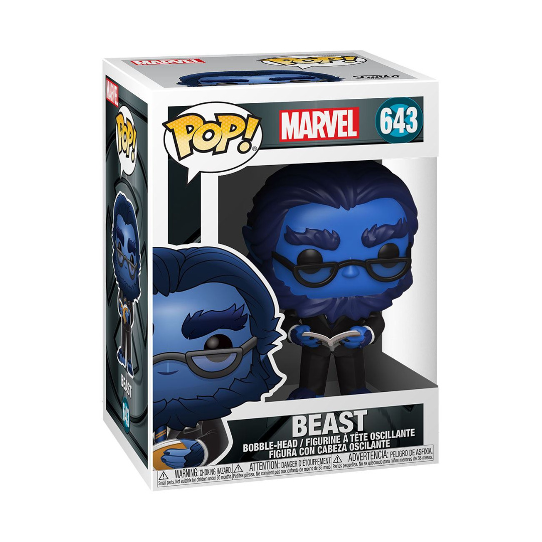 X-Men 20th Anniversary POP! Marvel Vinyl Figure Beast 10 cm