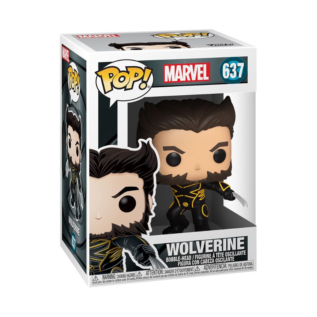 X-Men 20th Anniversary POP! Marvel Vinyl Figure Wolverine In Jacket 10 cm