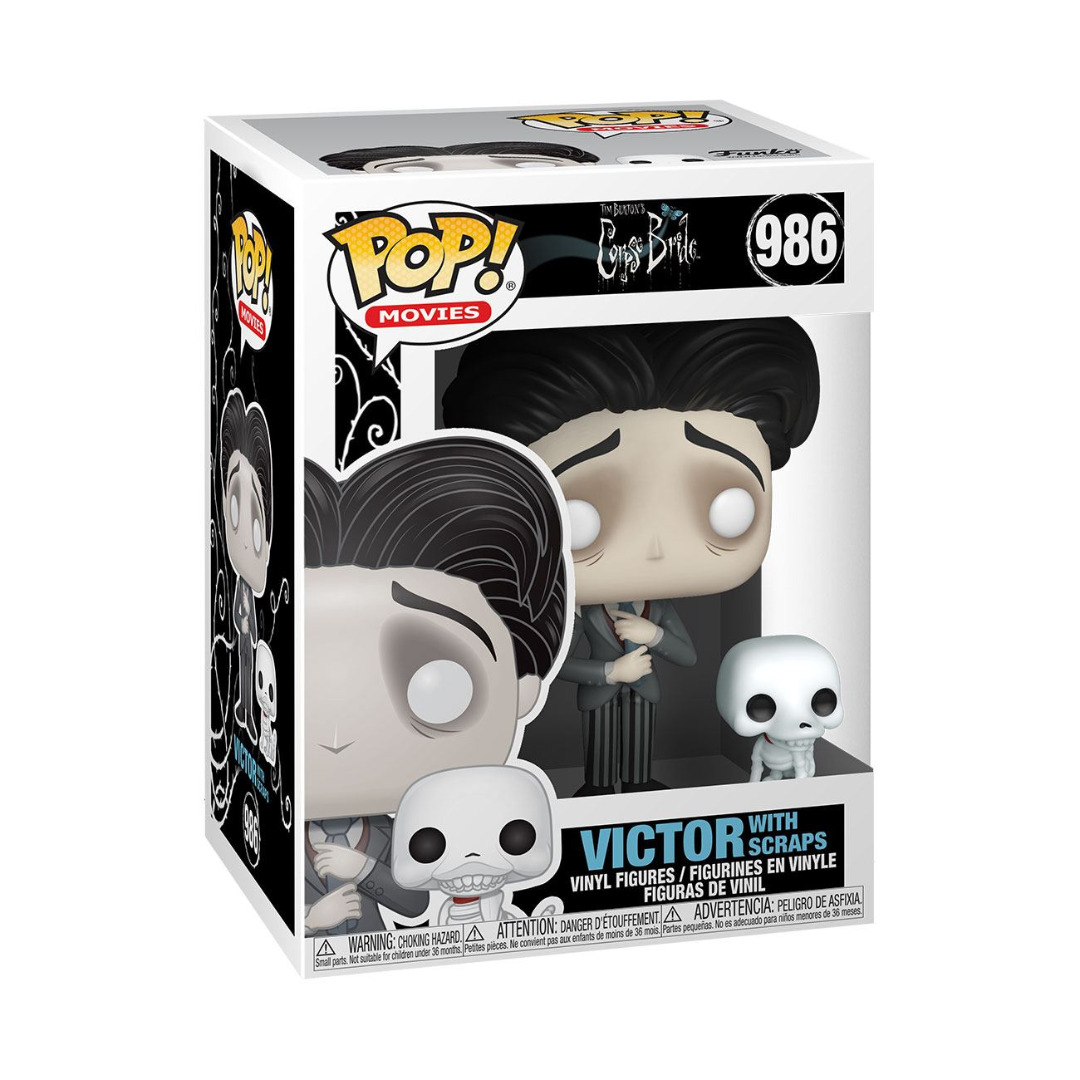Corpse Bride POP! Movies Vinyl Figure Victor Van Dort 10 cm