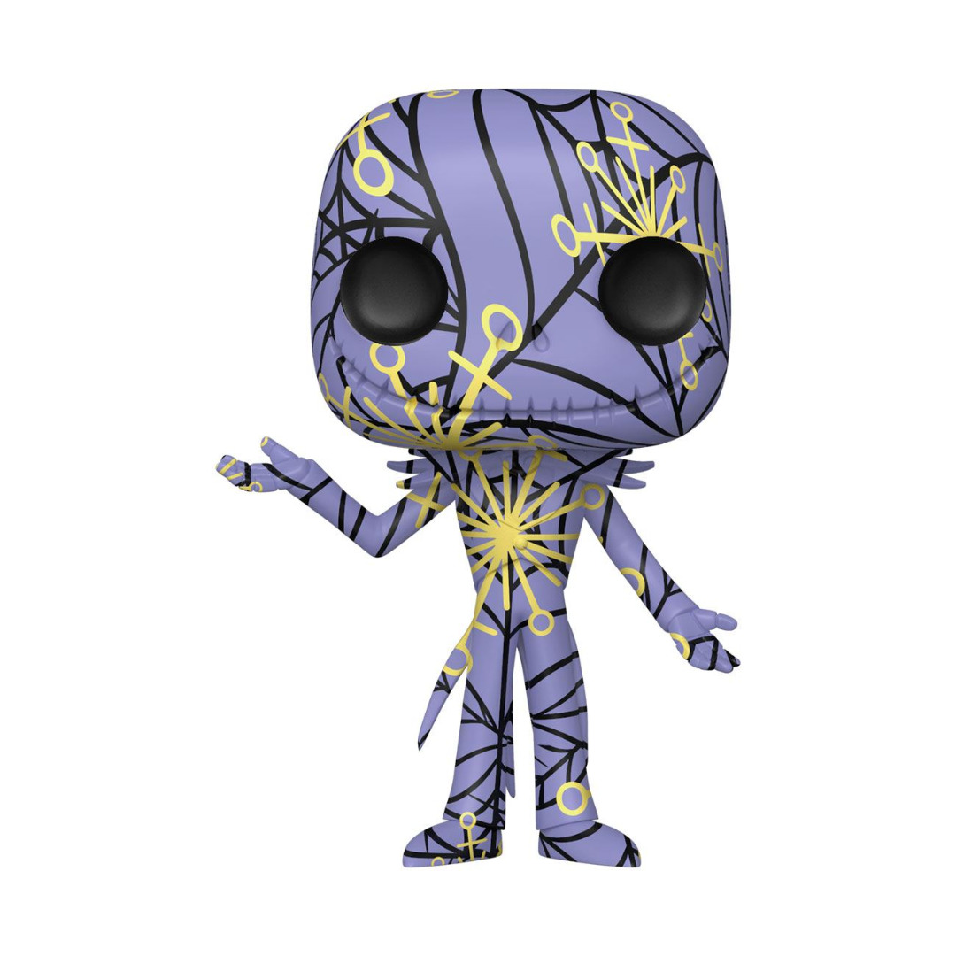 Nightmare before Christmas POP! Disney Artist Series Figure Jack w/ Case