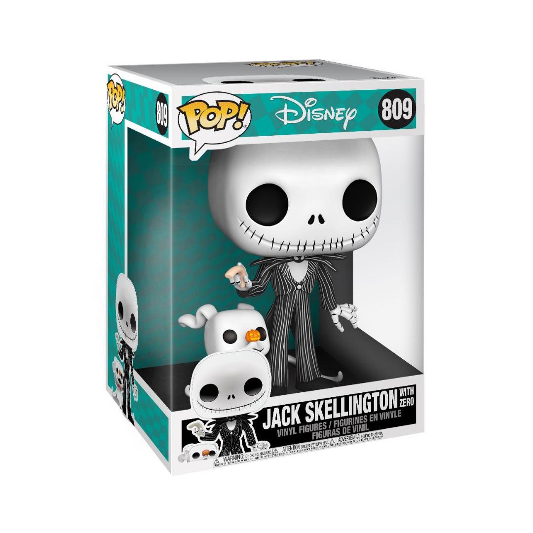 Nightmare before Christmas Super Sized POP! Disney Figure Jack w/Zero 25 cm